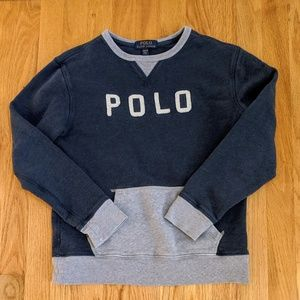 Boys Polo Ralph Lauren Sweat Shirt. Size M
